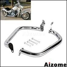 Chrome Motorcycle Highway Engine Frame Protector Crash Bar For Suzuki Boulevard M109R 2006-2017 Engine Guard