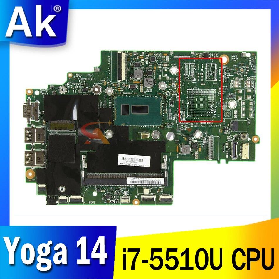 الأصلي لينوفو ثينك باد اليوغا 14 i7-5510U اللوحة 00UP315 448,01110 ، 0021 شحن مجاني
