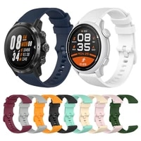 wriststrap for coros pace 2 silicone strap band for coros apex pro wristband apex 46mm 42mm smartwatch bracelet watchband