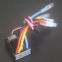 WP-1060-RTR 2-3S 60A ESC cepillado impermeable con BEC 5V/2A para 1/10 RC Tamiya Redcat HPI RC, piezas de coche