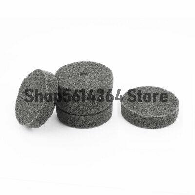 75mm x 20mm Black Nylon Abrasive Polishing Buffing Wheel Disc 5 Pcs