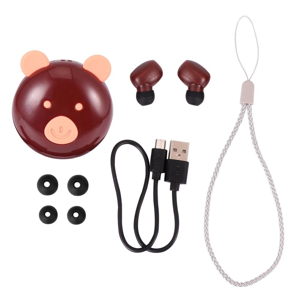 1 unidad de auriculares inteligentes táctiles, auriculares creativos, adorables, Auriculares resistentes al agua para niños, niños, mujeres, hombres