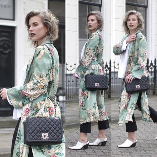 Kimono de estilo coreano para mujer, Chaqueta larga estilo bohemio para invierno,...