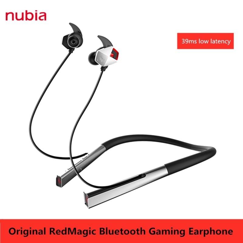 Original ZTE Nubia Kopfhörer RedMagic 5G Bluetooth Kopfhörer 39ms Niedrige Latenz Rot Magie 5S Dao Feng Wireless gaming Headset