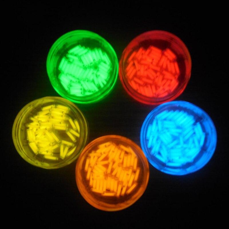 EDC 1 uds Gas de tritio tubo 1,5*6mm auto luminosa 15 años de productos de alta tecnología EDC Multi-color de selección de luces de emergencia
