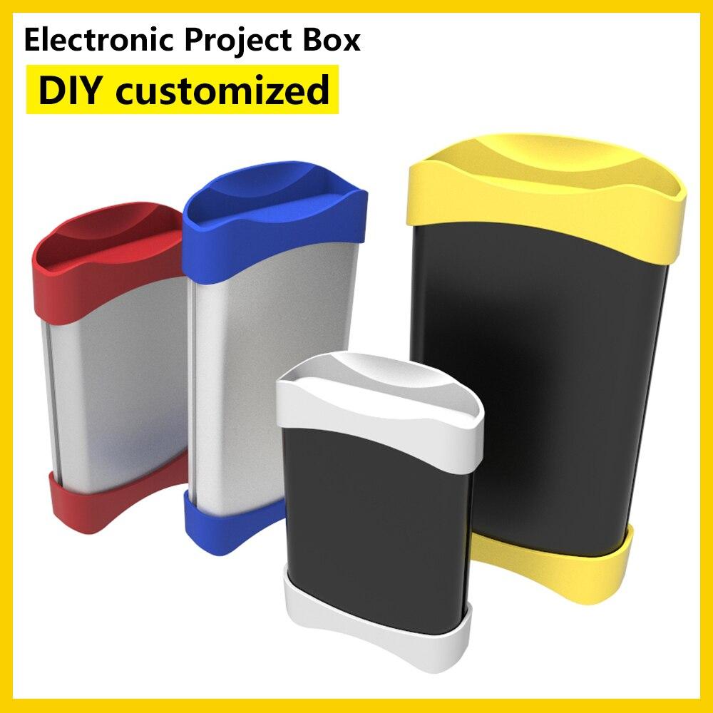 الكهربائية الصغيرة الضميمة Behuizing إليكترونيكا جديد لتقوم بها بنفسك صندوق الألومنيوم الضميمة K04A 110*30 مللي متر