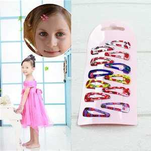 Beautiful Colorful Hair Clips Cute Girls Baby Kids Children Gift Hair Accessories