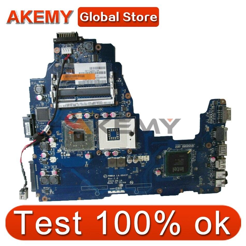 AKEMY PWWAA LA-6841P اللوحة الأم لأجهزة الكمبيوتر المحمول توشيبا الأقمار الصناعية C660 GM45 GL40 اللوحة الأم K000111600 K000111590 DDR3