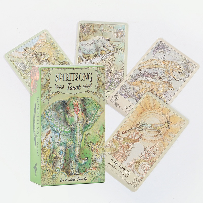 Лидер продаж, Карта Таро высокой четкости, большой размер, Высококачественная полноценная игра для гадания на английском языке-песня для ду...