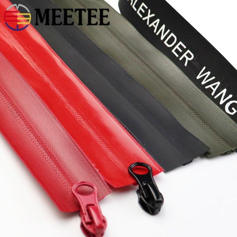 1/3m 5 # Nylon impermeable código de cremallera Nylon cremallera DIY bolsa exterior chaqueta ropa Zip Tailor costura accesorio ZA014