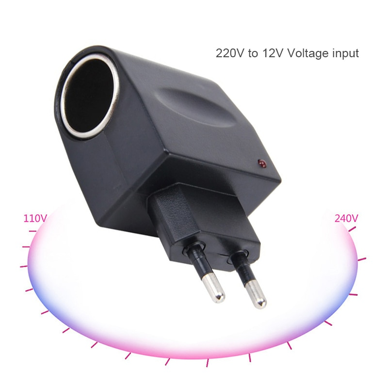 Car Cigarette Lighter Splitter Plug Dual Car Charger Car 12v Socket Cigarette Lighter Tee Adapter Ci