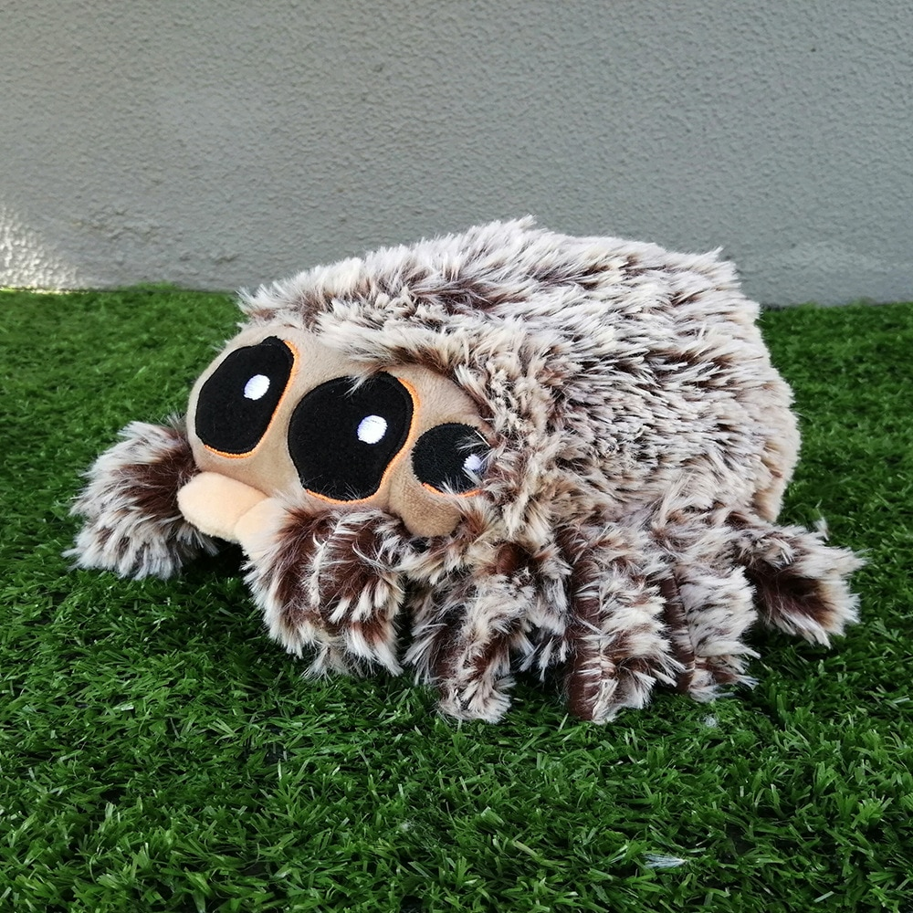 30cm Lucas the Spider American Cartoon Characters Plush Toys Appease Doll Cute Spider Birthday Present for Children Baby