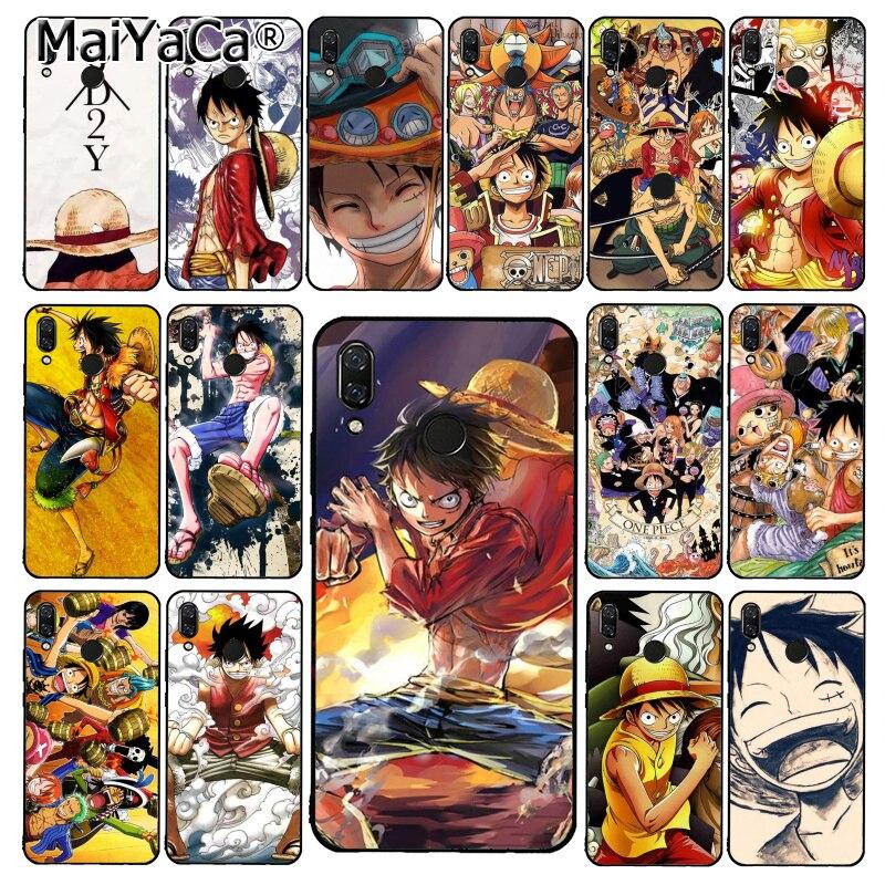 Japońskie anime maiyaca kolaż one piece luffy etui na telefon xiaomi Redmi8 4X 6A S2 iść Redmi 5 5Plus Note5 7 Note8pro