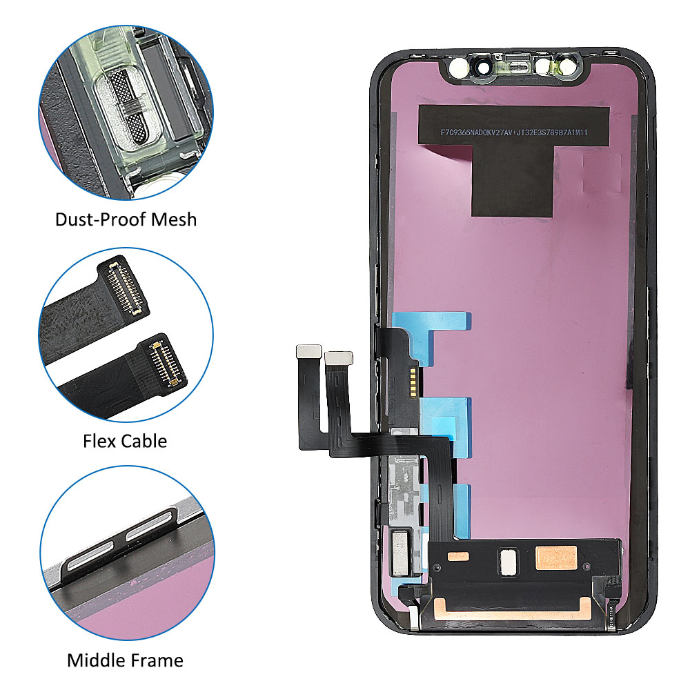 for iPhone 11LCD Screen Replacement Touch Digitizer Screen 3D Touch with Tools Quality A++ LCD Screen for iPhone 11 TFT incell enlarge