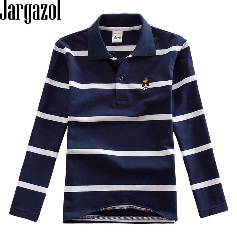 Camiseta Polo a rayas para niños, Camisetas de algodón, camisa de manga...