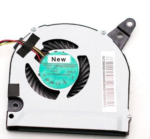 Para adda ab06505hx07kb01 servidor portátil ventilador de refrigeração dc5v 0.40a 4-wire