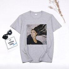 2020 Ariana Grande T-shirt femmes unisexe esthétique vêtements mode impression manches courtes hauts Vogue T-shirt Femme Camiseta Mujer
