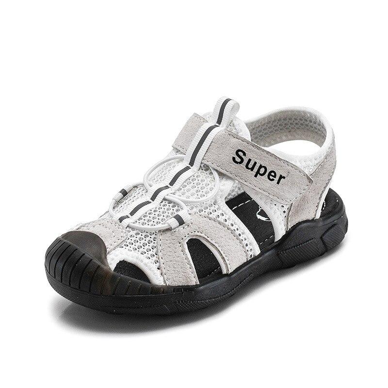 2020 children's sandals summer leather new sports boy sandals girls beach shoes kids sandals