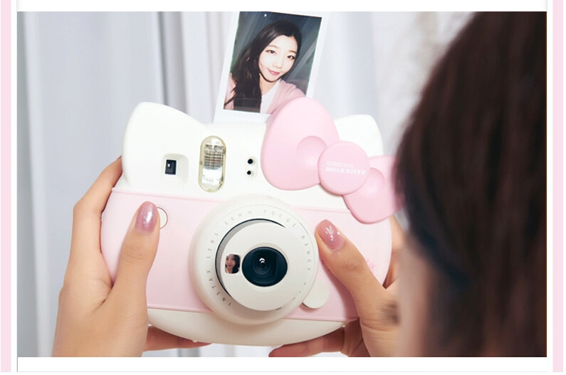 Fujifilm Instax Mini  KITTY Instant Camera Fuji 40 Anniversary Film Photo Paper One Time Shot with 10sheets