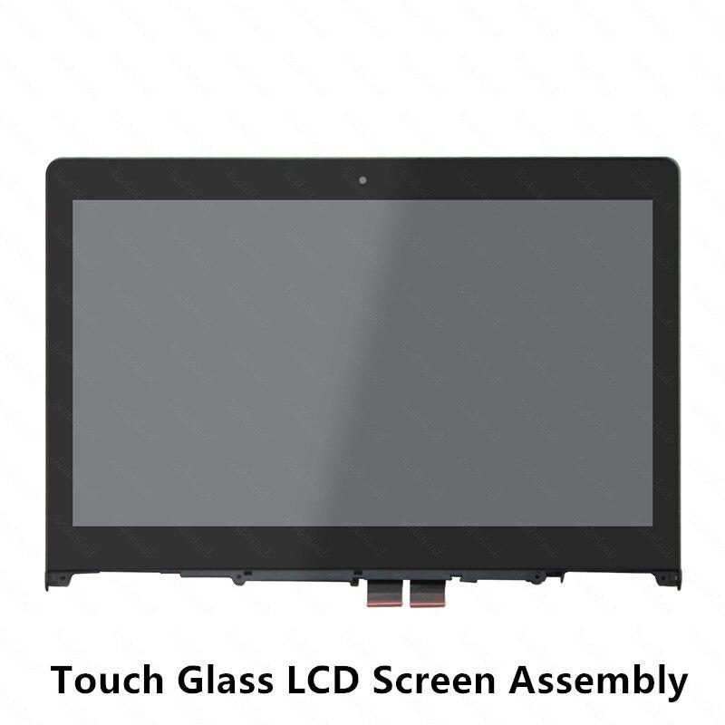 14 ''LCD Screen Display Toque Vidro Digitador Assembléia + Frame/Moldura para Lenovo Yoga 500-14IBD 80N4 Yoga 500-14ISK 80R5 1920x1080