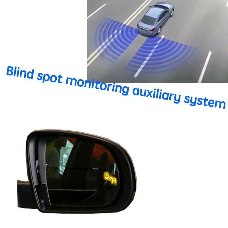 نظام BSD BSM BSA للسيارة نظام الكشف عن الرؤية الخلفية للرادار لسيارات جيب شيروكي KL 2014 ~ 2020
