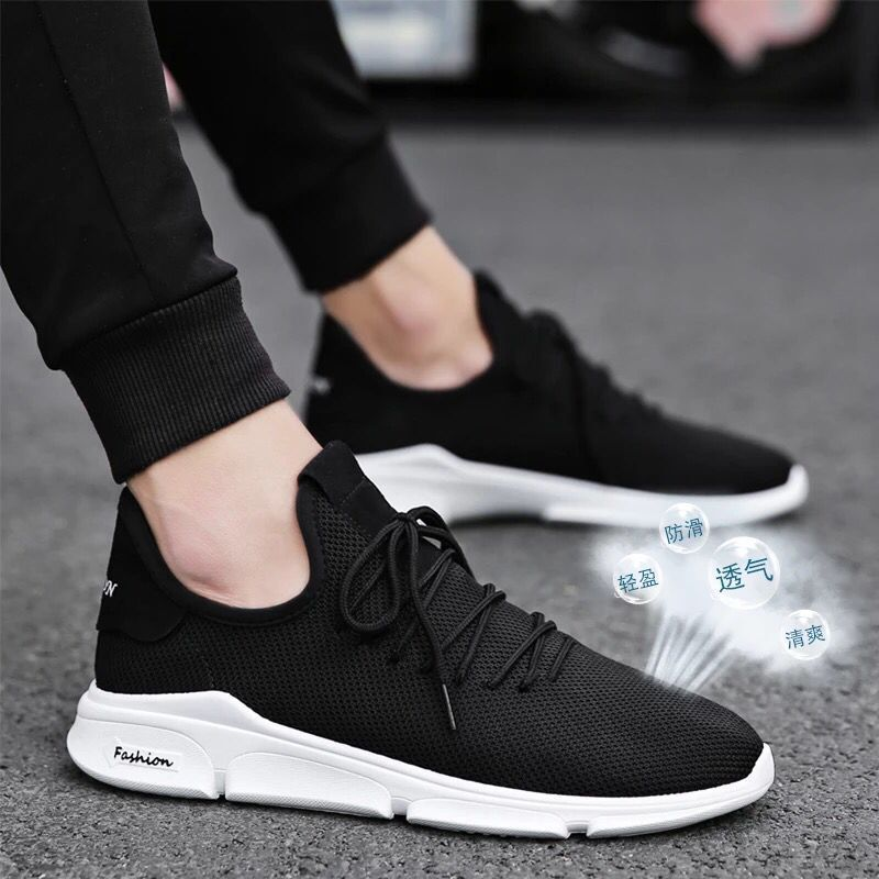 Купить с кэшбэком Men's Sneakers Light Shoes  2020 New Net Shoes Breathable Shoes Men Casual Shoes Small White Mesh Sports Wild Footwears