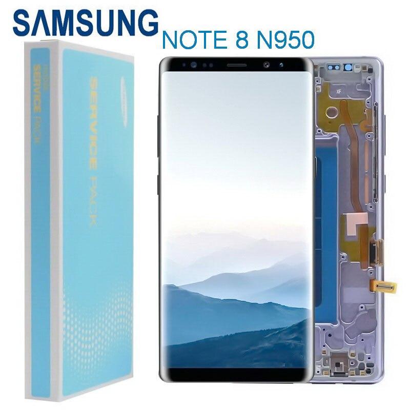 original 63 amoled lcd para samsung galaxy note 8 n950 n950f n9500 n950u display