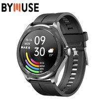 BYMUSE F10 2021 New Smart Watch Men for Android & IOS Bluetooth 5.0 Dial Call Watch Sports Heart Rat
