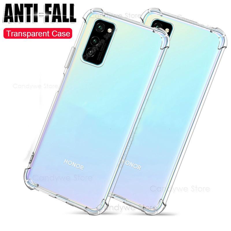 Airbag caso claro para Huawei Nova iPhone 6 5i Honor V30 20 Pro 10i 20i 9X 8X 8C 8A P30 P20 Lite P Smart 2019 transparente de la cubierta del TPU del