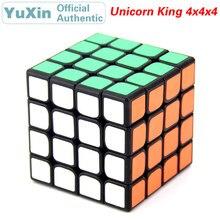 YuXin Unicorn King 4x4x4 Magic Cube ZhiSheng 4x4 Speed Twisty Puzzle Brain Teasers Educational Toys For Children
