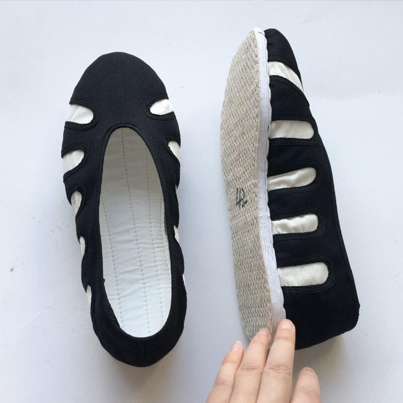 Taoist sapatos feitos à mão mil camada inferior nuvem calzado taoism suprimentos wu tang tai chi sapatos respirável kung fu schoenen