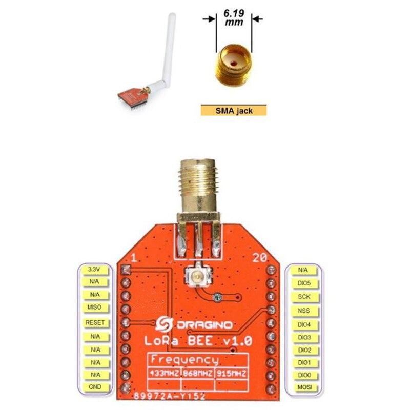 Модуль LoRa Bee IoT, Профессиональные Сетевые беспроводные датчики SX1276/SX1278