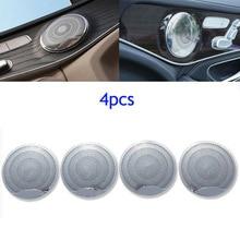 2020 Hot Sale Car Audio Speaker Cover 4pcs For Mercedes-Benz GLC Interior E C-class C200L Durable And Practical