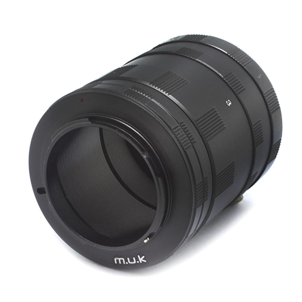 Pixco Macro Extension Tube Ring set Suit for Olympus Panasonic Micro 4/3 Mount Camera Lens
