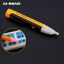 Indicateur électrique 90-1000V prise murale courant alternatif détecteur de tension capteur testeur stylo indicateur de lumière LED mesure bricolage outil à main