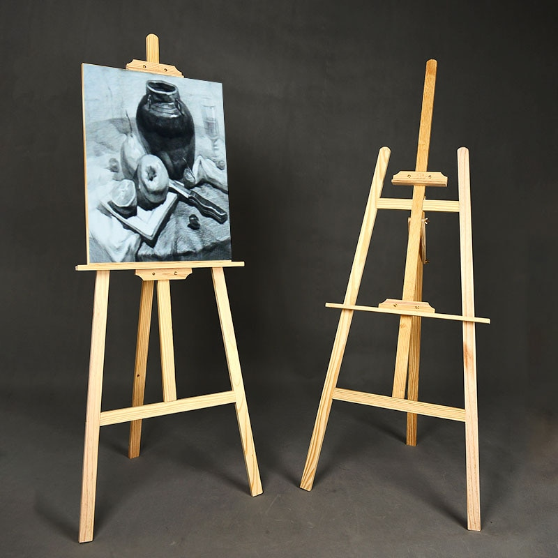Easel for Art Students Only Sketch Tool Set 4k8k Oil Painting Board Sketch Foldable and Portable Artifact Wooden Children Tripod