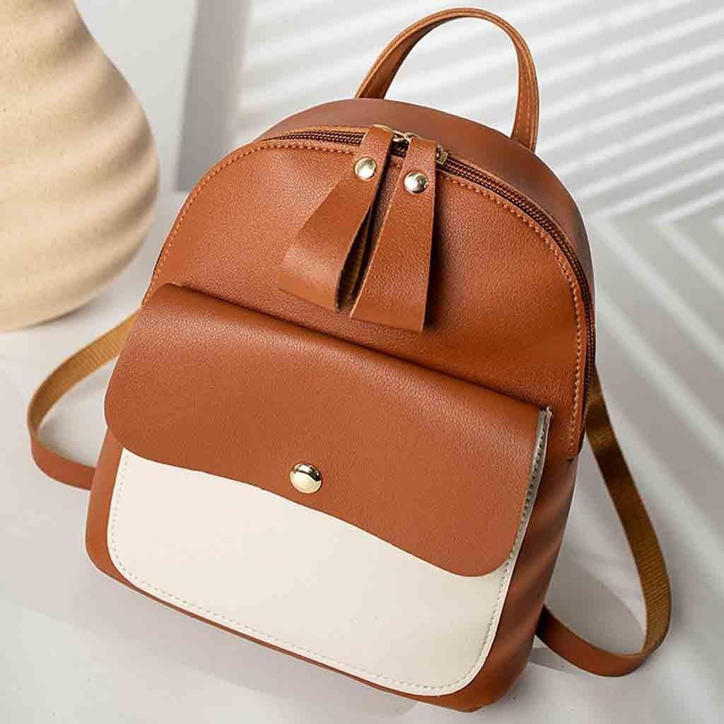 Mochila feminina pequena, bolsa de ombro, mochila de letras para celular, bolsa de mensageiro, mochila feminina #25
