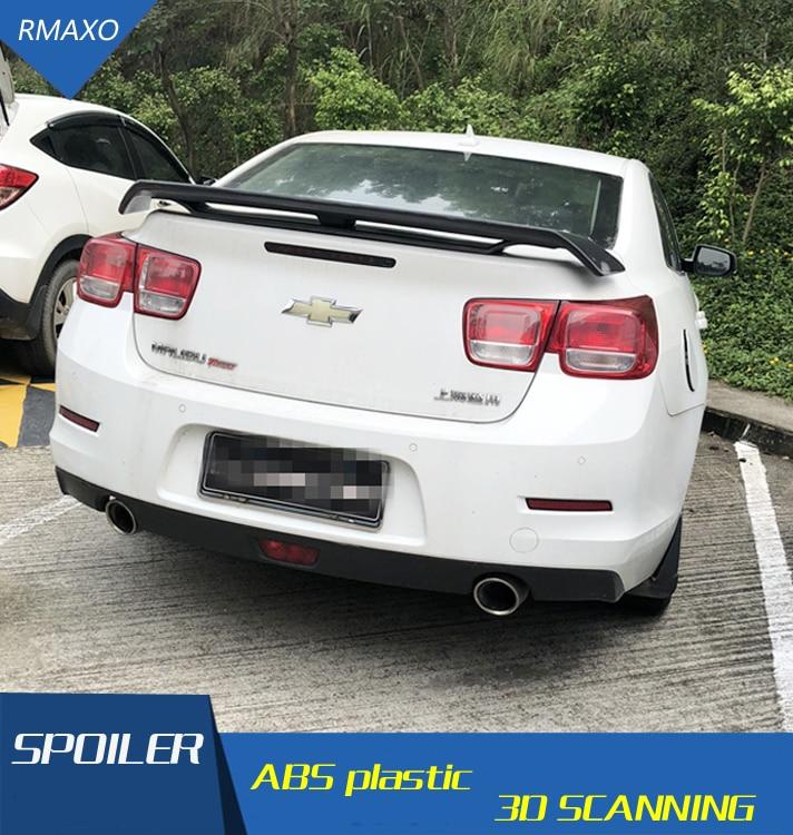 Alerón trasero de coche para Malibu 50ZN ABS con imprimación de Color Malibu alerón trasero para Chevrolet Malibu Spoiler 2009-2018