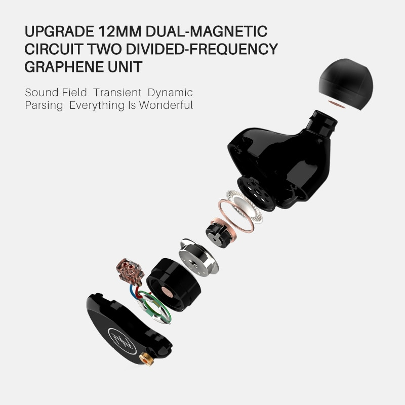 TFZ T2 Galaxy In Ear Monitor Earphones Noise Isolating Hifi Stereo Earphone Metal Wired Earbuds 2pin 0.78 Detachable Cable enlarge