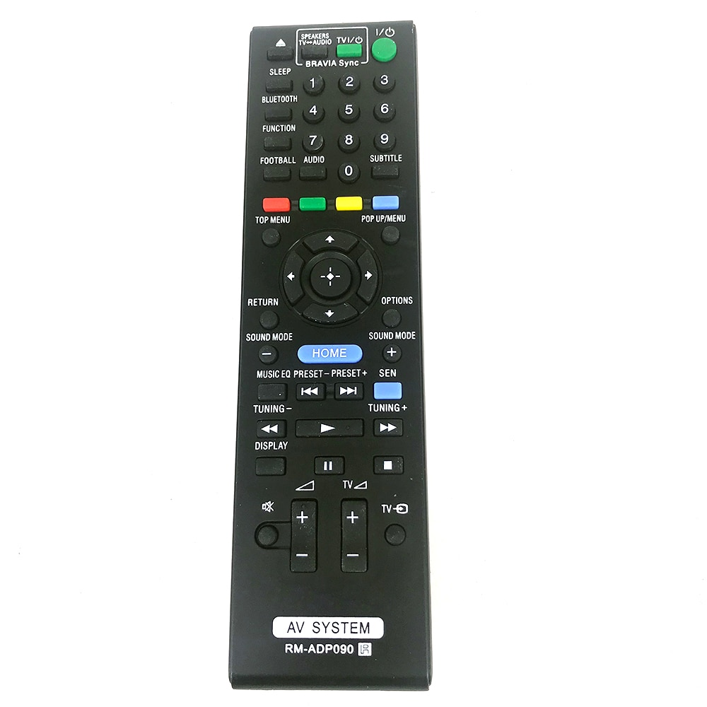 RM-ADP090 para SONY AV system, Control remoto, HBD-E2100, DBD-E3100, BDV-E4100, BVD-E6100Fernbedienung, nuevo