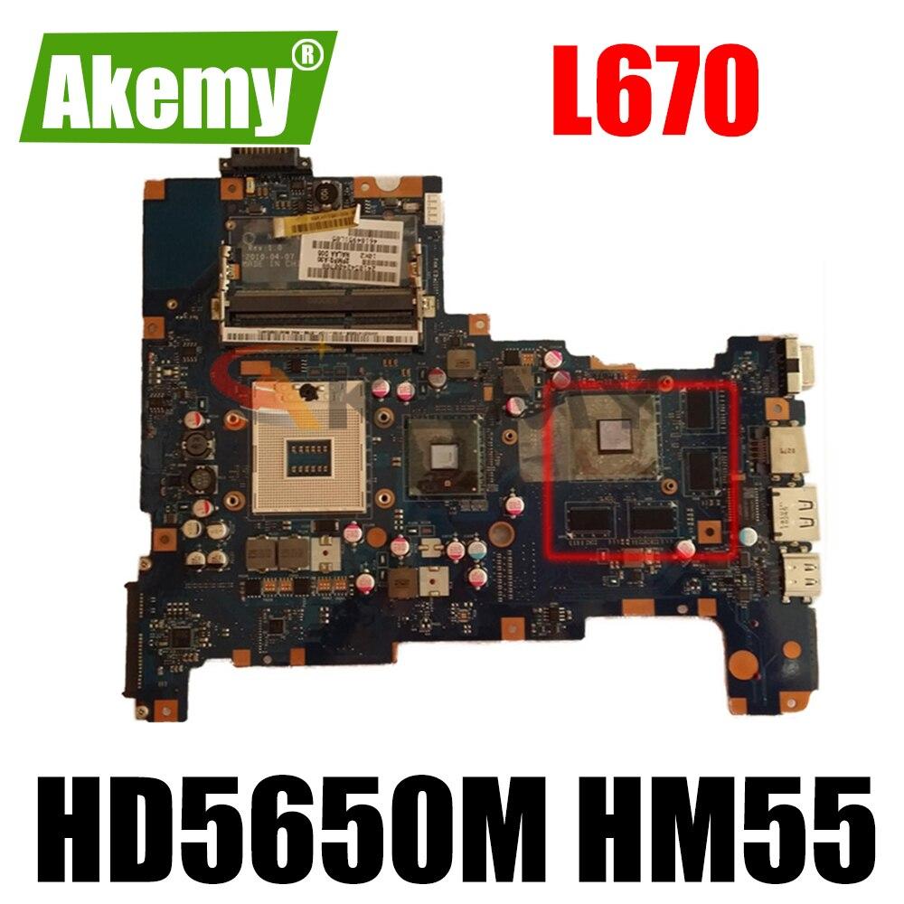 AKEMY نالا LA-6042P توشيبا الأقمار الصناعية L670 K000103790 اللوحة الأم HD5650M HM55 DDR3