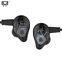 KZ ED16 2BA avec 1 hybride dynamique dans loreille écouteur HIFI DJ Monito Sport en cours dexécution écouteur casque écouteurs pour KZ ZS10 AS10 CCA C10