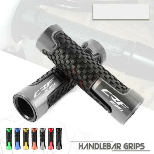 Ручки для мотоцикла Honda Africa Twin CRF1000L AFRICA TWIN 7/8 22 мм, CNC, ПВХ, резиновые гелевые ручки