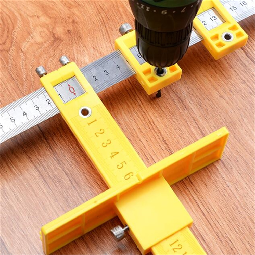 Adjustable Handle Positioning Punching Artifact Cabinet Door Handle High Precision Hole Punch Precision Drilling Tool enlarge