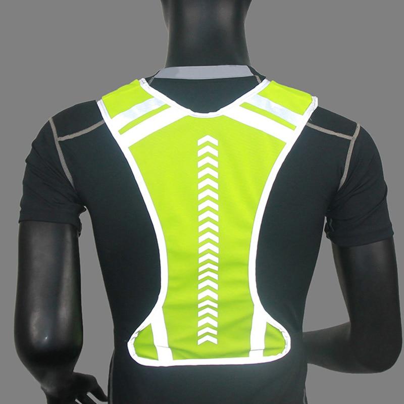 Segura para Correr Colete Reflexivo Jaqueta Correndo Ciclismo Motocicleta Noite & t8
