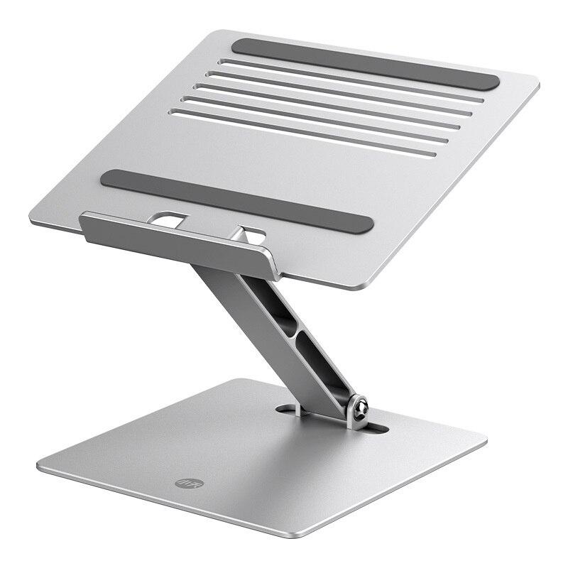 Laptop Stand Riser Height Adjustable Aluminum Foldable Tablet Stand Desktop Notebook Cooling Holder for MacBook 11-17 inch