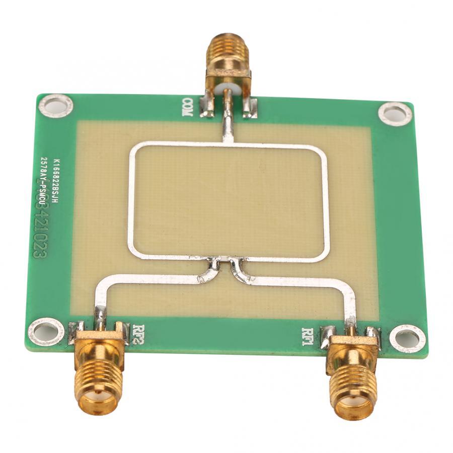 Adaptador de corriente 30-1000MHz frecuencia RF divisor de potencia de 2 vías divisor combinador adaptador de corriente ajustable