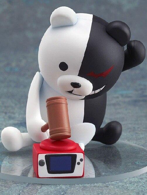 Danganronpa gatillo feliz Havoc MONOKUMA Mono Kuma 313 10CM Modelo de figuras de acción de juguete