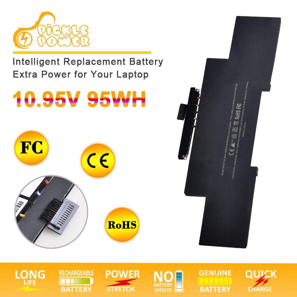 A1417 batterie dordinateur portable pour MacBook Retina Pro 15