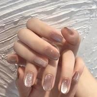 nailfan milk tea spar cat eye magnetic gel nail polish glue 15ml silver variety glue nail art shiny nail art varnish tslm1
